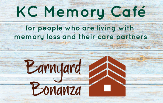 Memory Cafe flyer image