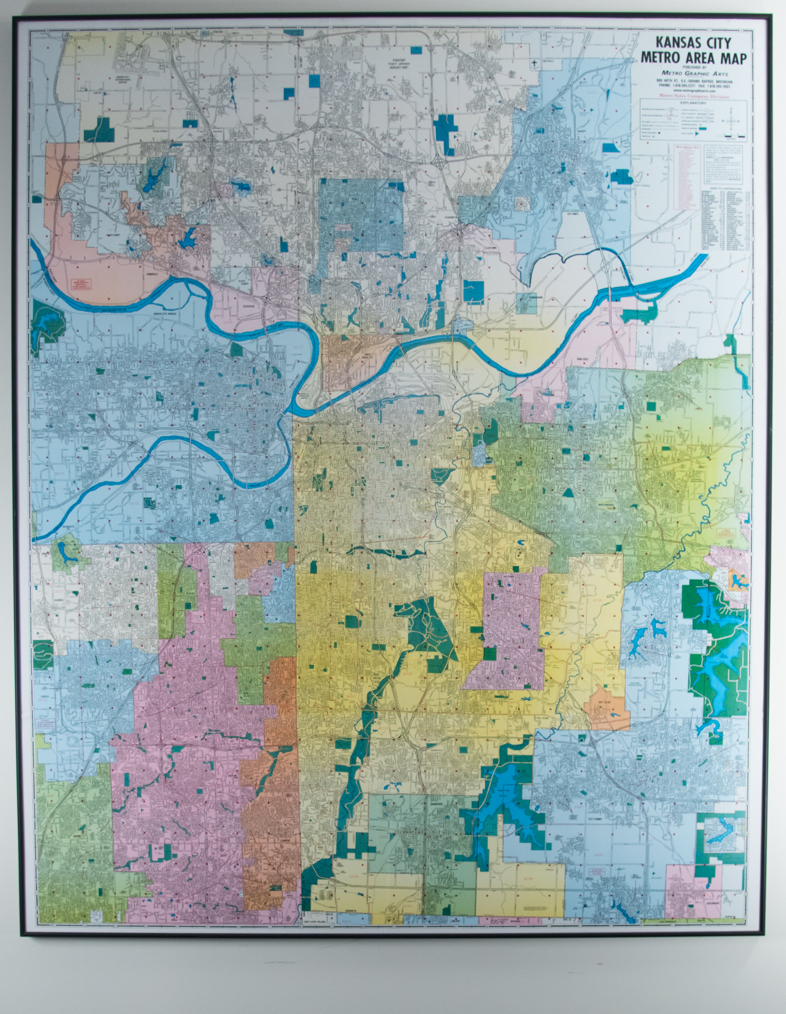 Map of Kansas City Metro Area | Kansas City Public Library