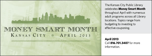 Money Smart Month 2013 Adult Programs