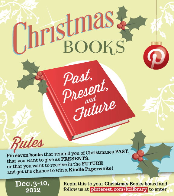Pinterest Christmas Books Contest
