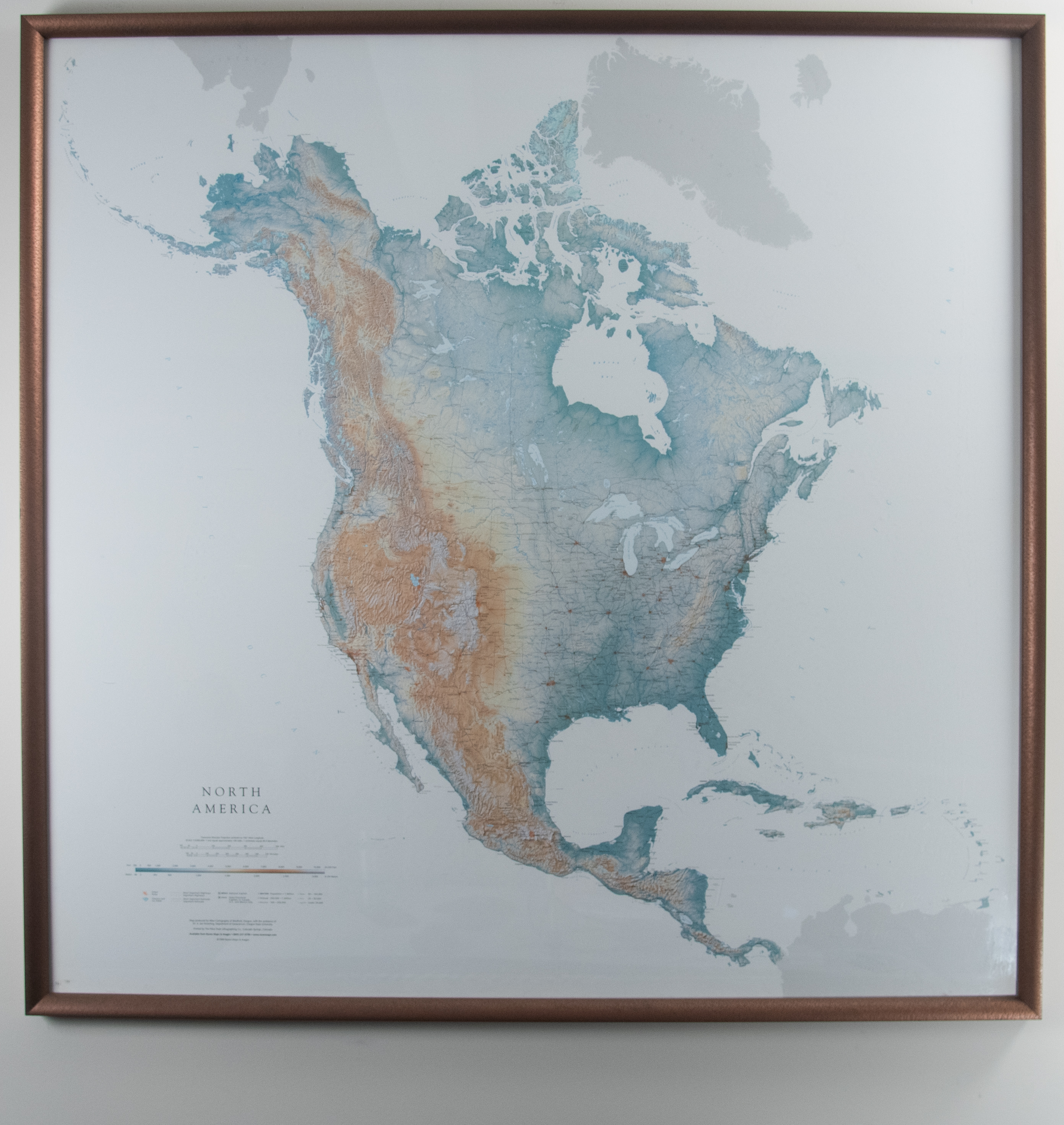 Map Of America Kansas.Raven Maps And Images Map Of North America Kansas City Public Library