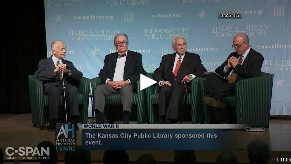 Henry Bloch, Edward T. Matheny Jr., and Bill Dunn Sr.