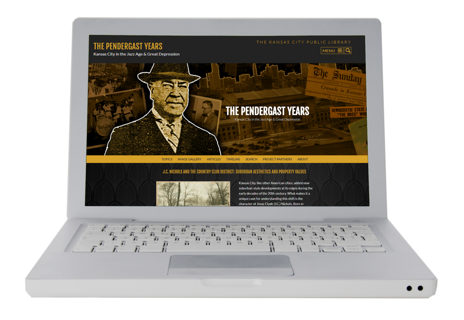 The Pendergast Years website