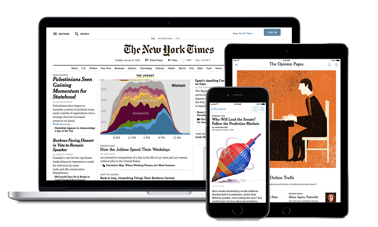 Library Adds NYTimes com to Free Digital Resources | Kansas