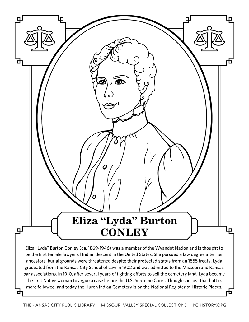 Drawing From History: Coloring Book Highlights Notable Women of KC\'s ...