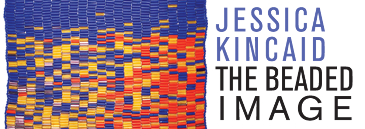 The Library's latest exhibit commemorating the 20th anniversary of the Charlotte Street Foundation features the work of Kansas City-area artist Jessica Kincaid – best known for her visionary and surreal imagery, scenes of nature, and abstract compositions in beaded tapestries.