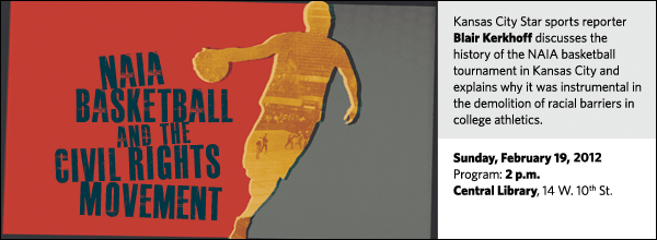 Kansas City Star sports reporter Blair Kerkhoff discusses the history of the NAIA basketball tournament in Kansas City and explains why it was instrumental in the demolition of racial barriers in college athletics.