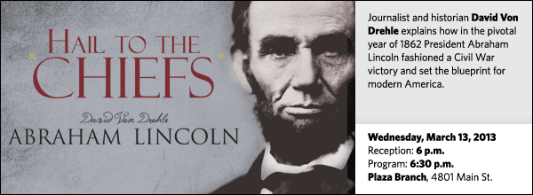 Journalist and historian David Von Drehle explains how in the pivotal year of 1862 President Abraham Lincoln fashioned a Civil War victory and set the blueprint for modern America.