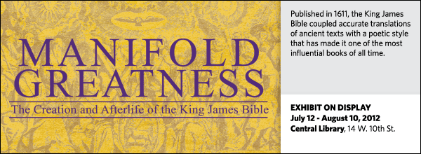 Published in 1611, the King James Bible coupled accurate translations of ancient texts with a poetic style that has made it one of the most influential books of all time.