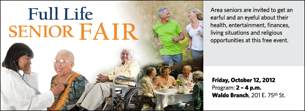 Area seniors are invited to an afternoon dedicated to their health, entertainment, finances, living situations and religious opportunities at this free event.