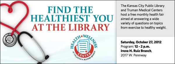 The Kansas City Public Library and Truman Medical Centers host a free monthly health fair aimed at answering a wide variety of questions on topics from exercise to healthy weight.