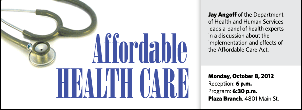 Jay Angoff of the Department of Health and Human Services joins a panel of health experts to discuss the implementation and effects of the Affordable Care Act.