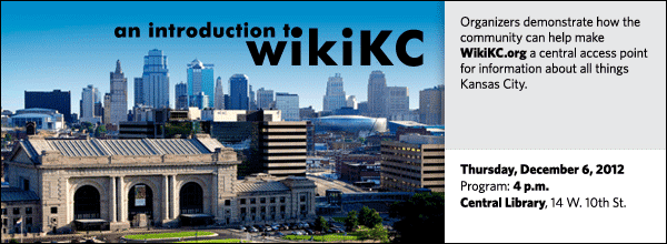 Organizers demonstrate how the community can help make WikiKC.org a central access point for information about all things Kansas City.