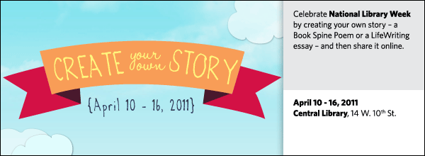 Create Your Own Story @ Your Library