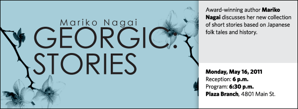 Award-winning author Mariko Nagai discusses her new collection of short stories based on Japanese folk tales and history.