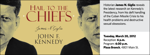 Historian James N. Giglio reveals the latest research on Kennedy's Presidency, from his deft handling of the Cuban Missile Crisis to his health problems and destructive sexual obsessions.