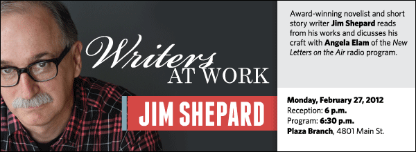 Award-winning novelist and short story writer Jim Shepard reads from his works and dicusses his craft with Angela Elam of the New Letters on the Air radio program.