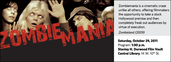 Zombiemania is a cinematic craze unlike all others, offering filmmakers the opportunity to take a stock Hollywood premise and then completely freak out audiences by virtue of execution.