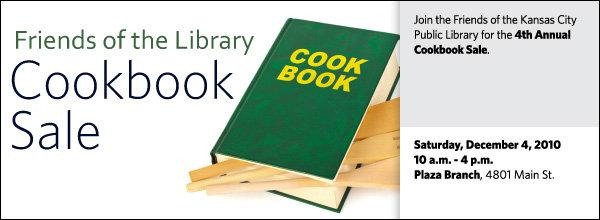 Join the Friends of the Kansas City Public Library for the 4th Annual Cookbook S