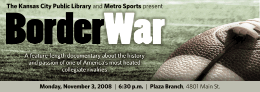 Border War examines the history of the athletic rivalry between the University of Missouri and the University of Kansas