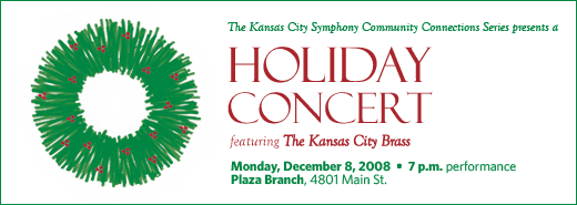 Holiday Concert with the Kansas City Brass