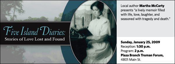 Martha McCarty: Five Island Diaries