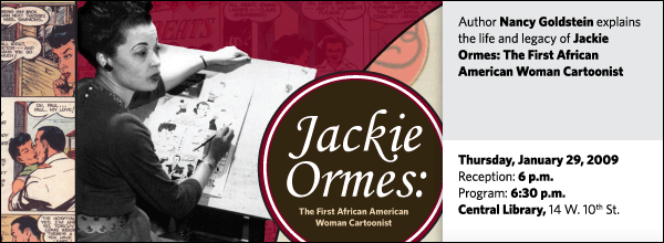 Nancy Goldstein: Jackie Ormes: The First African American Woman  Cartoonist