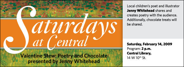 Saturdays at Central: Jenny Whitehead