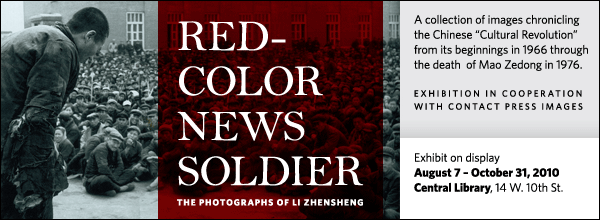 A collection of images chronicling the Chinese 'Cultural Revolution' from its beginnings in 1966 through the death  of Mao Zedong in 1976. Exhibition in cooperation with Contact Press Images.