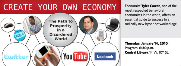 Economist Tyler Cowen, one of the most respected behavioral economists in the world, offers an essential guide to success in a radically new hyper-networked age.