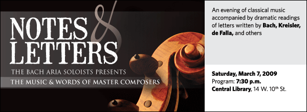 Bach Aria Soloists