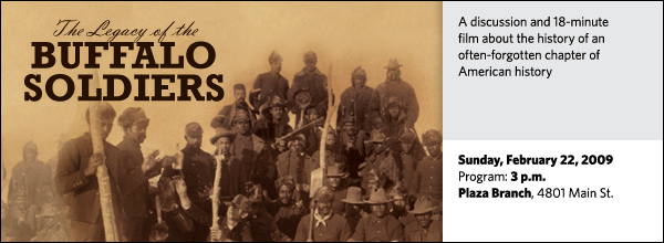 The Legacy of the Buffalo Soldiers