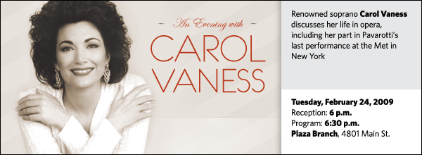 An Evening with Carol Vaness