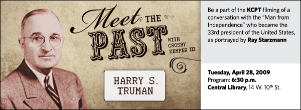Meet the Past: President Harry S. Truman