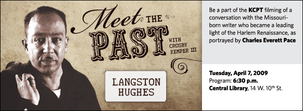 Meet the Past: Langston Hughes