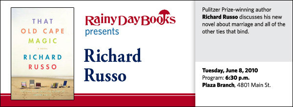 Pulitzer Prize-winning author Richard Russo discusses his new novel about marriage and all of the other ties that bind.