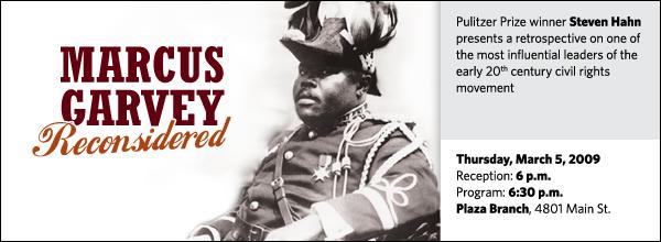 Steven Hahn: Marcus Garvey Reconsidered