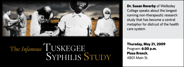 Susan Reverby: The Infamous Tuskegee Syphilis Study