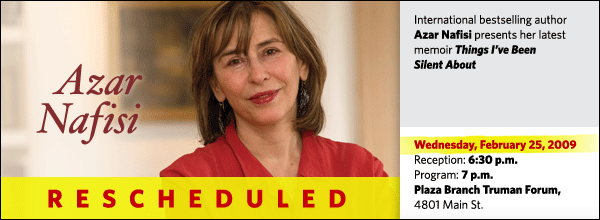 Azar Nafisi: Things I've Been Silent About