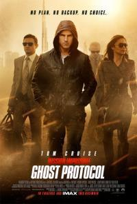 Mission Impossible - Ghost Protocol movie poster