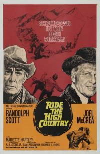 Ride the High Country movie poster