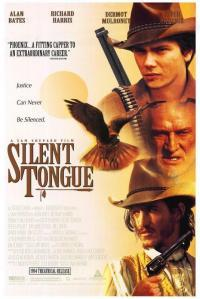 Silent Tongue movie poster