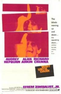Wait Until Dark movie poster