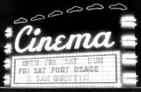 Movie Theatre Marquee
