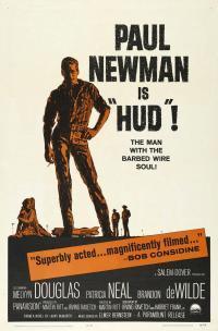 Hud movie poster