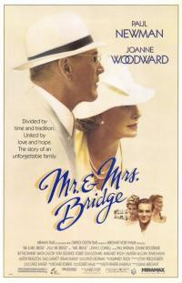 Mr. & Mrs. Bridge movie poster