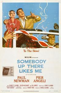 Somebody Up There Likes Me movie poster