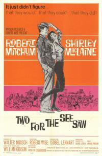 Two for the Seesaw movie poster