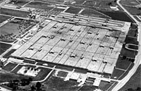 Bendix Plant, site of the Kansas City Speedway at 95th and Troost