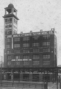 Exterior view of the Jones Bros. Mercantile, Kemper Paxton building at 1423-41 West 9th Street